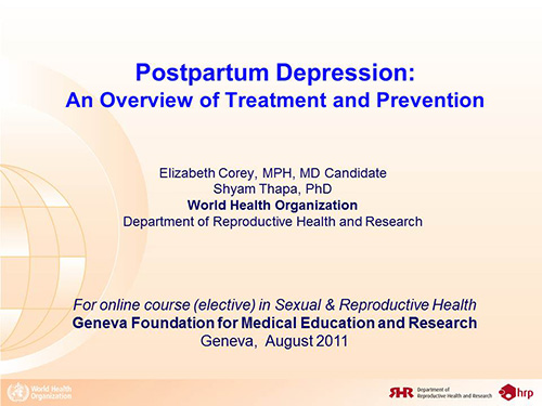 outline research paper postpartum depression Multiple aspects of postpartum depression 1 running head: multiple aspects of postpartum depression the environmental, cultural, relational and physiological aspects of postpartum depression a research paper presented to the faculty of the adler graduate school.