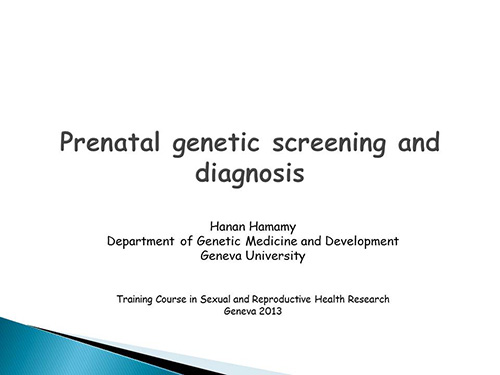 Argument Against Prenatal Genetic Screening Essay