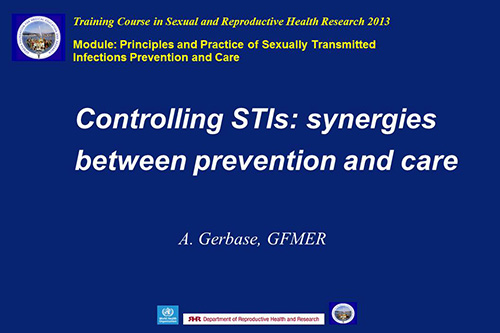 Control Of Sexually Transmitted Infections Health And Social Care Essay