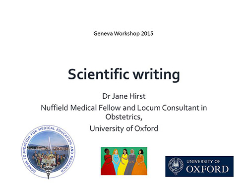 scientific research paper writing workshop A training workshop on scientific research paper writing details written on thursday, 27 august 2015 13:38 the beca-ilri hub hereby invites applications for a.