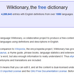 Wiktionary